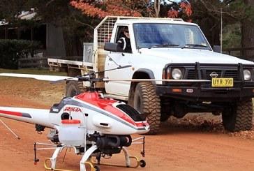 Bezzałogowe helikoptery do ochrony upraw