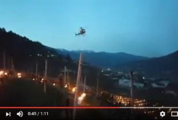 Helikoptery mieszają powietrze. Ochrona przed przymrozkami