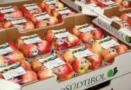 Fot. 1. W supermarketach tyrolskie ekologiczne jabłka zbywane są pod marką Bio Südtirol®