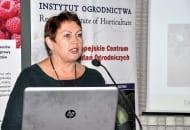 Fot. 2. Jak informowała dr Dorota Kruczyńska, profesjonalnie prowadzone sady gruszowe, założone na terenach o korzystnych ku temu warunkach, mogą przynosić zadowalające efekty ekonomiczne, a także stanowić alternatywę, np. dla uprawy jabłoni