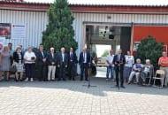 Fot. 1. XXII Dzień Otwarty Sadu Doświadczalnego SGGW w Wilanowie jak co roku rozpoczął się uroczystym powitaniem przybyłych gości