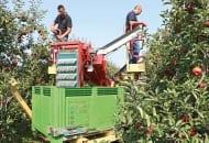Fot. 6. Kombajn do zbioru jabłek Zucal Apple System model Z11