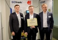 Firma GOTrack z wyróżnieniem Interpoma Technology  Award