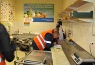 Fot. 2. Pomieszczenie kontroli jakości w magazynie centralnym Tesco w Teresinie