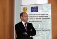 Fot. Dr Eligio Malusa, podczas seminarium inauguracyjnego Projektu Life