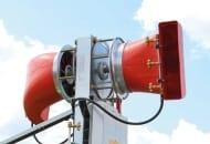 FOT. 4. Górna część przystawki kolumnowej Triple Fan z ruchomymi wylotami powietrza