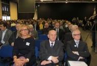 Fot. 5. Sala wykładowa, w pierwszym rzędzie Wiesława Barańska (właścicielka firmy Agrosimex), Eberhard Makosz, Kazimierz Adamicki