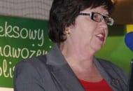 Fot. 8. Dr Elżbieta Rozpara z IO oceniła przydatność agrotechniczną wybranych odmian czereśni, wiśni i śliw w sezonie 2011