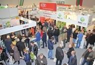 FOT. 1. Dużym zainteresowaniem cieszyła się wystawa towarzysząca 25. Spotkaniu Sadowniczemu w Sandomierzu
