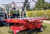 FOT. 3. Platforma sadownicza dwuosiowa model DS-PW II