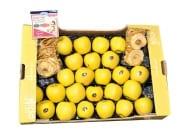 Fot. 1. Jabłka  odmiany Opal®, mimo że  charakteryzują się bardzo atrakcyjnym wyglądem i smakiem, w wielu rejonach uprawy mają tendencję do silnego ordzawienia się