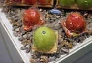 Fot. 12. Umyte jabłko z serwetką – pomysł np. dla sklepów na stacjach benzynowych