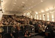 Fot. 1. Sala wykładowa w Ossie wypełniła się po brzegi