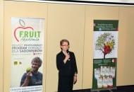 Fot. 1. Konferencję otwarła Anna Marczak, prezes ZZO Warka