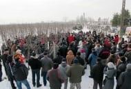 Fot. 2. Pokaz w Sandomierzu zgromadził tłumy zainteresowanych