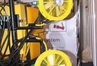 FOT. 1. Turbofan – opryskiwacz z kierunkowym, wspomagającym strumieniem powietrza