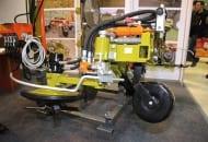 FOT. 2. Pielnik obrotowy LPO-H do odchwaszczania gleby w rzędach drzew