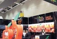 FOT. 2. Stoisko Activ/Fruit Family – tu po raz kolejny promowano polskie jabłka i soki z owoców