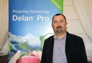 FOT. 6. Jacek Lewko z BASF omówił sposób ochrony przed parchem jabłoni