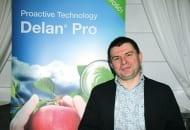 FOT. 8. Grzegorz Lewandowski z BASF zaprezentował zalety ograniczania wzrostu wegetatywnego drzew