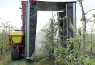 Fot. 5. Opryskiwacz tunelowy podczas pracy