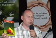 Fot. 4. Mirosław Korzeniowski z Bayer CropScience