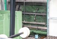 FOT. 5. Automatyczna myjka skrzyniopalet na linii do sortowania jabłek GeoSort