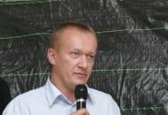 Fot. 10. Piotr Pawlak z Intermagu przypominał o konieczności okresowego wykonywania analiz glebowych