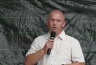 Fot. 11. Krzysztof Kantor z firmy Bayer podpowiadał jak skutecznie zwalczać mszyce oraz nasionnicę trześniówkę