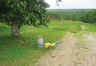 Fot. 5. Detonator na gaz propan-butan można wykorzystać także do ochrony drzewek przez zwierzyną