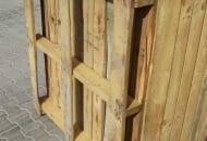FOT. 1. Skrzyniopaleta drewniana na 3 płozach