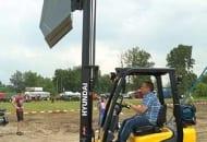 FOT. 2. Nisko położony środek ciężkości wózka zapewnia mu stabilność