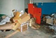 Fot. 4. Puste opakowania i śmieci przyciągają szkodniki