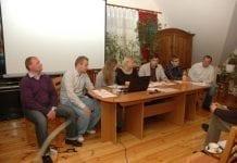 Pierwsze spotkanie grupy Młodych Sadowników