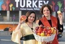 Owoce z Turcji
