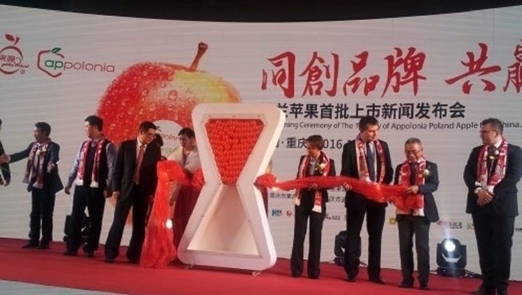 W Chinach ruszają imprezy promujące polskie jabłka