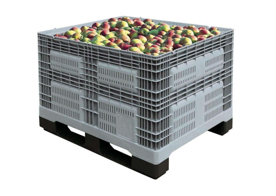 Nowy trend sezonu – cena za skrzyniopaletę jabłek