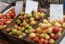 Detal: Ceny jabłek w ostatnim tygodniu października