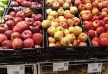 Supermarket: Ceny owoców w Południowym Tyrolu w drugiej dekadzie listopada