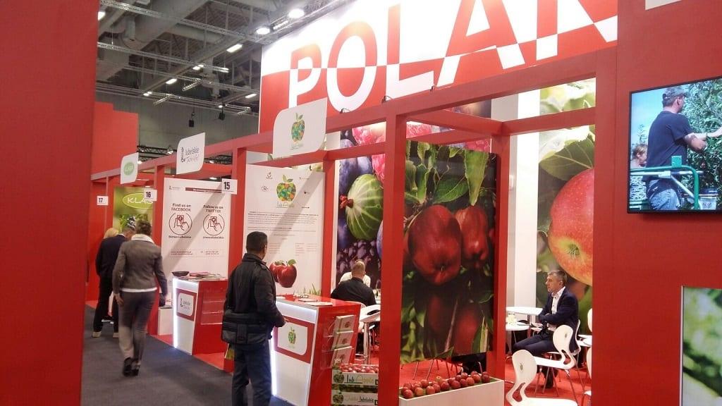LubApple na targach Fruit Logistica 2018 w Berlinie