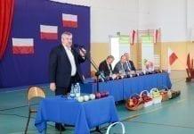 Spotkanie ministra z sadownikami w Błędowie