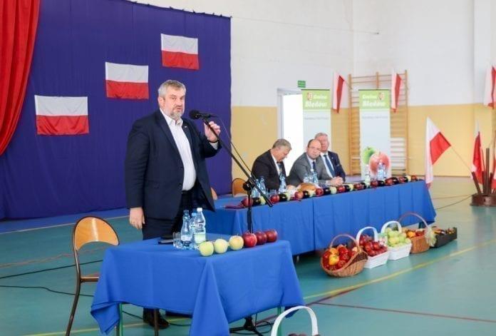 Minister rolnictwa w Błędowie, 10.10.2018