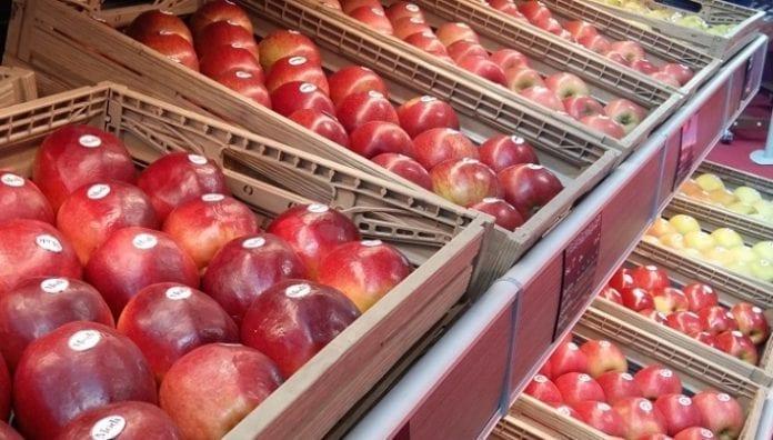 Ceny jabłek grudzień 2018
