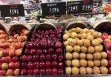 Niższa od spodziewanej produkcja jabłek w stanie Waszyngton