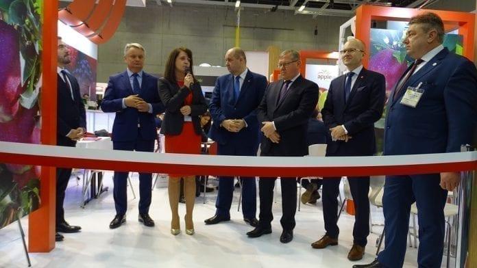 Polskie stoisko na Fruit Logistica 2019