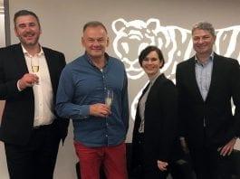 Jakub Nowak-Prezes firmy Jantoń, Krzysztof Tryliński- Platinum Wines, Sebastian Król- Partner w Enterprise Investors, Magdalena Jurkiewicz- Dyrektor Inwestycyjny Enterprise Investors
