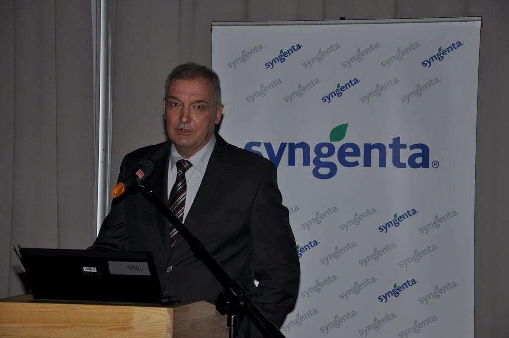 Marek Łuczak, prezes zarządu firmy Syngenta Polska