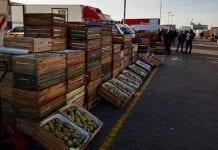 Hurtowe ceny owoców - rymek w Broniszach