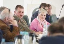 Uczestnicy pierwszego posiedzenia Zespołu ds. stabilizacji i wsparcia rynku owoców i warzyw.