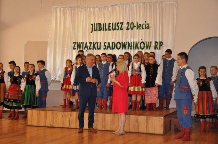 Jubileusz XX-lecia Związku Sadowników Rzeczpospolitej Polskiej - zdjęcie nr 1